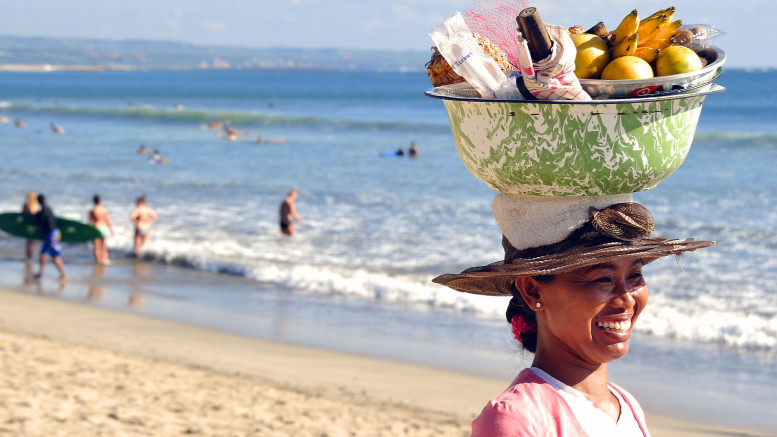 Strand in Bali. (Foto: Ministry of Tourism and Creative Economy, Republic of Indonesia)