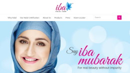 (Screenshot ibahalalcare.com)