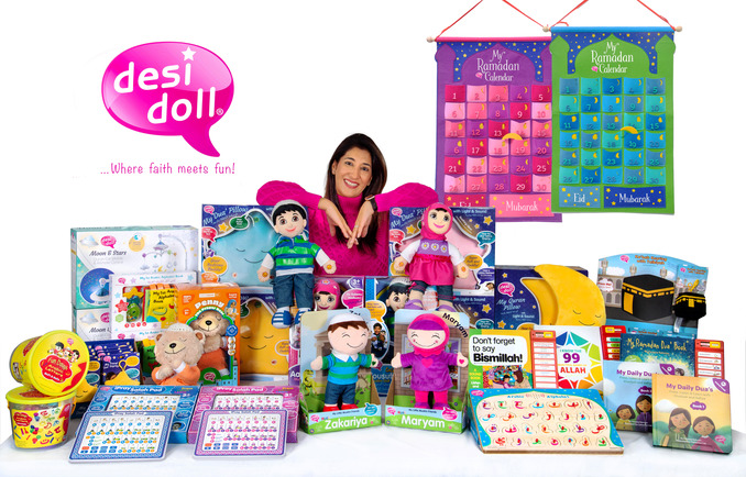 "Desi Doll Farzana Rahman - Desi Doll founder Rahman: ""We'd love to sell our toys in Germany"""